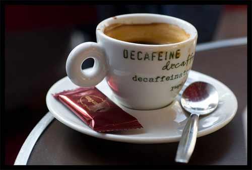 Is decaf coffee is a diuretic