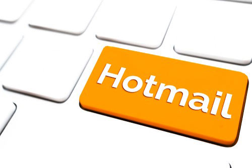 Steps to create an account on Hotmail