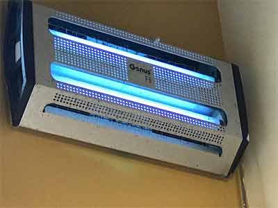 What are the items required for cleaning insect zapper