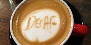 decaf coffee a diuretic