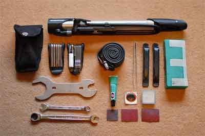 What are parts of a double flare tool kit