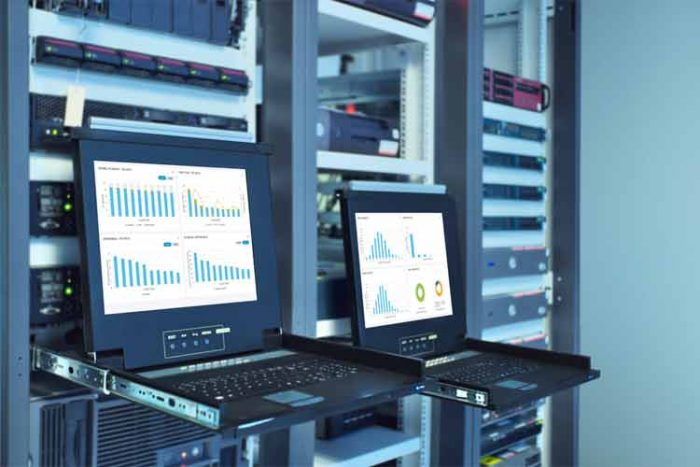 What do you use to Monitor server status up down