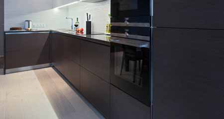 Ideas for How to Mix Stainless Steel and Black Appliances in Your Kitchen