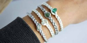 Make a Colorful Bungee Cord or Satin Cord Bracelet