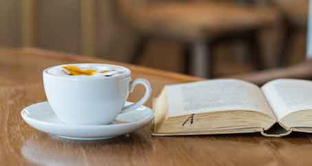 Books and Coffee at the corner